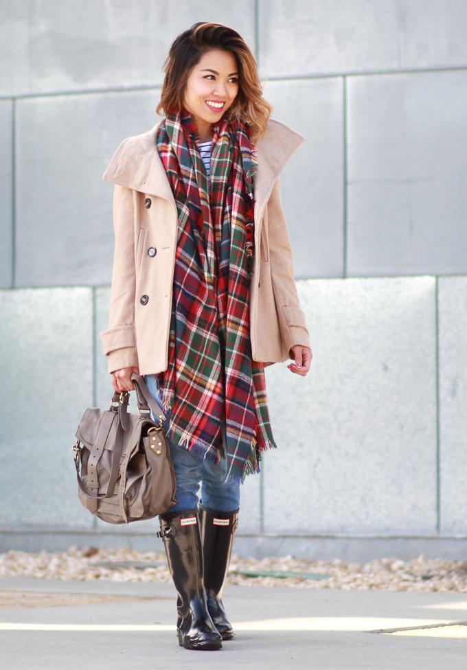 Thread & Supply Pea Coat Winter Coat