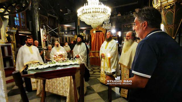 Ναύπλιο: Η εορτή του Γεννεσίου της Θεοτόκου στην ιστορική εκκλησία της Παναγίας