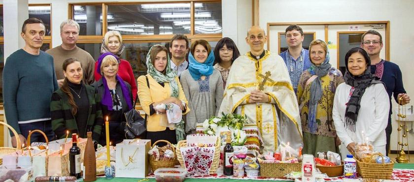 Саме українська громада в Японії стала ініціатором створення церкви і продовжує підтримувати її сьогодні