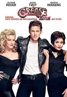 Capa filme Grease: Nos Tempos da Brilhantina - Ao Vivo! Grátis