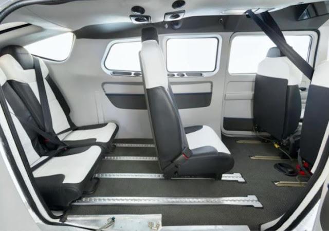 Cessna Turbo Stationair interior