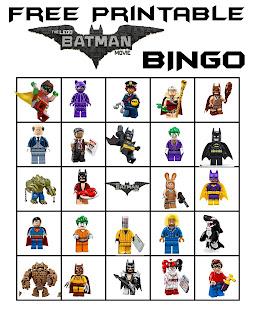 Lego Batman Bingo