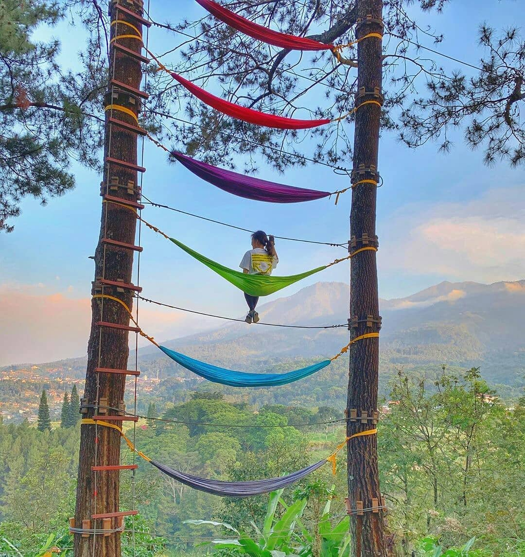 Harga Tiket Masuk Tretes Treetop Adventure Park Pasuruan - Wisatainfo