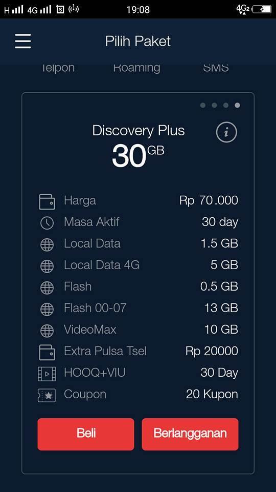 Paket internet telkomsel paling murah