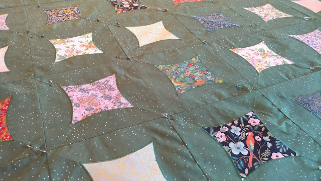 Cotton + Steel Menagerie quilt