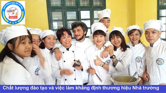 Chương trình đào tạo trung cấp nấu ăn