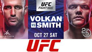 Ver UFC Fight Night 138: Volkan vs Smith En vivo En Español Online