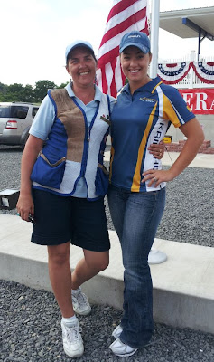 With the 2008 Bronze medalist, Corey Cogdell @ Keystone Shooting Park
