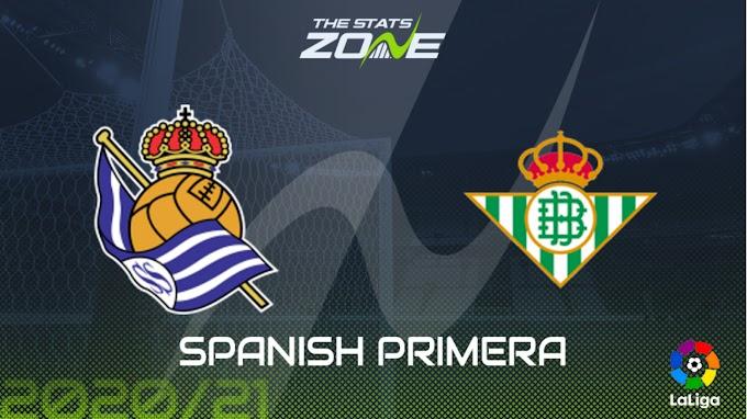 مشاهدة مباراة ريال سوسييداد و ريال بيتيس بث مباشر