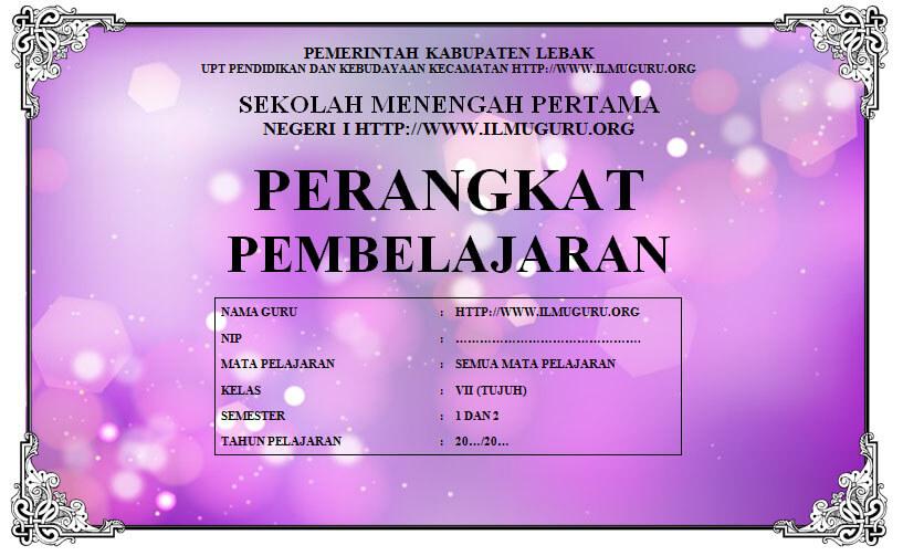 Perangkat PKN Kelas 7