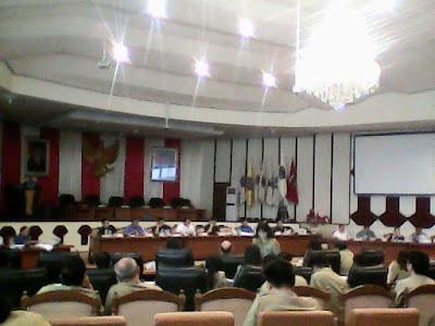 Rapat pembahasan pergeseran anggaran antara Banggar dan TAPD