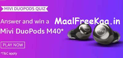 Mivi DuoPods M40 Quiz