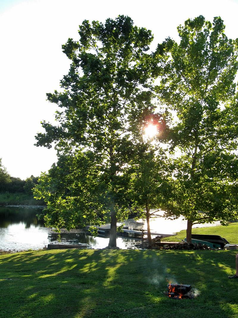Creative Country Mom: Camping In Our Own Backyard