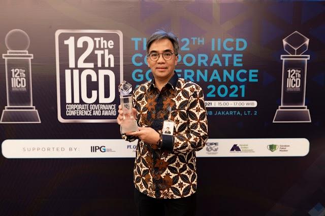 bank bjb Raih Top 50 Emiten di The 12th IICD Corporate Governance Award