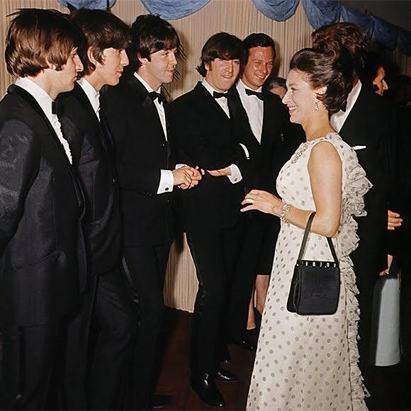 Passion et distinctions royales pour les Beatles