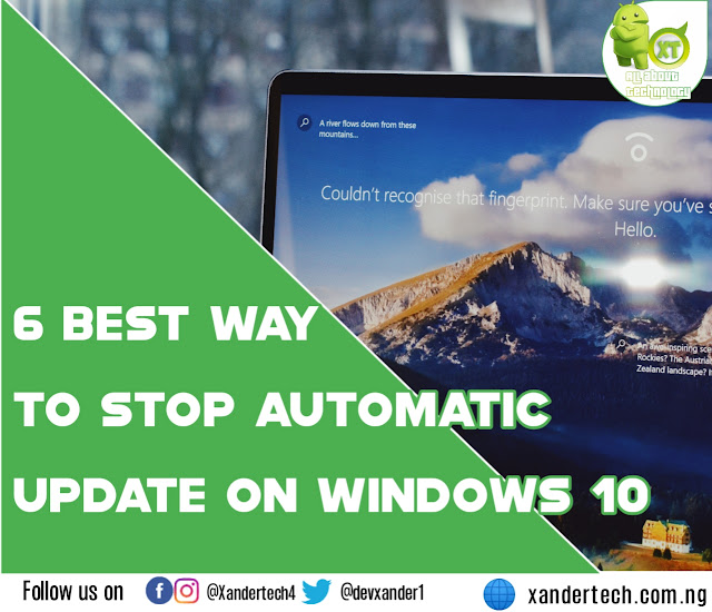 6 best way to Stop automatic update on windows 10 in 2021