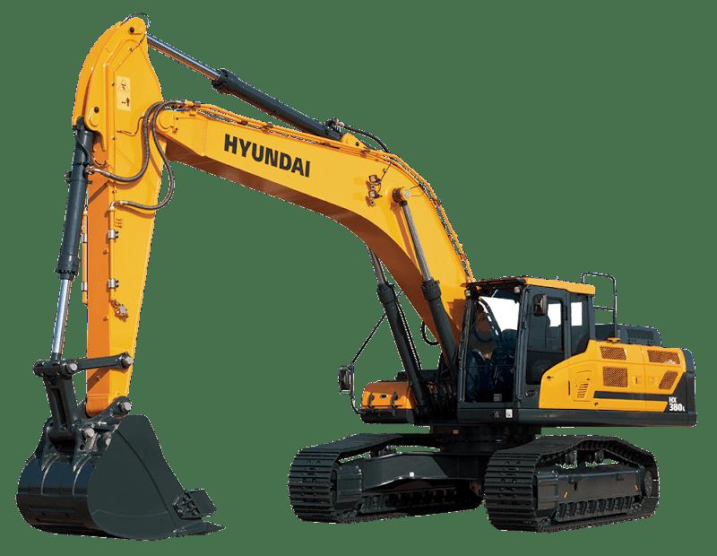 Hyundai Excavators HX380L