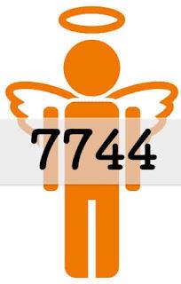 エンジェルナンバー 7744