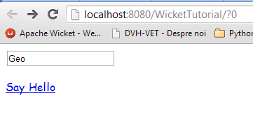 Best Frameworks: Wicket+Spring Basic Example