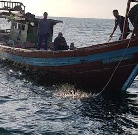 Dit PolAir Poldasu Tangkap Penyeludup Bawang Merah Ilegal Asal Malaysia