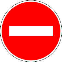 rambu lalu lintas strip