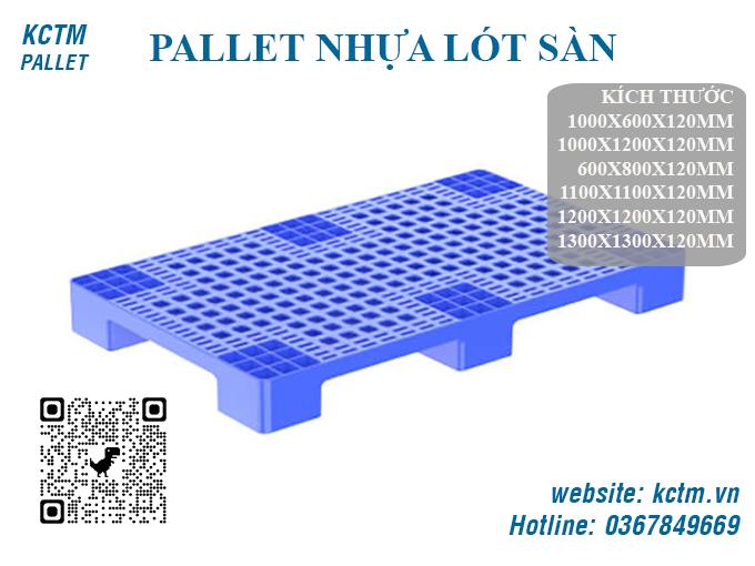 KCTM Pallet báo giá sỉ Pallet nhựa lót sàn