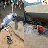 SAD NEWS: PREGNANT WOMAN AND HER TWO KIDS WAS CRUSH TO DEATH BY TANKER IN ONDO,(PHOTOS).