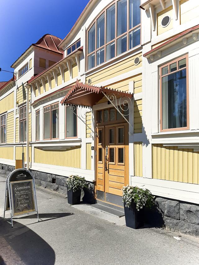 hotelli suositus, Oulu, De Galmas Hem