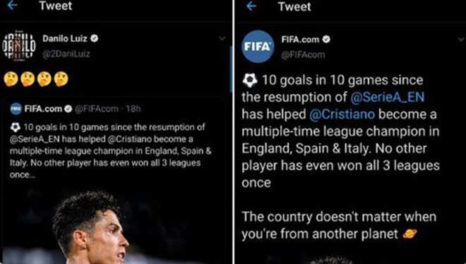"""FIFA dính """"phốt"""" liên quan đến Ronaldo: Bị SAO Juventus bóc mẽ xấu hổ"""