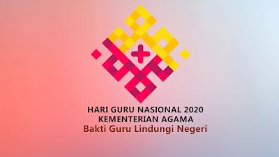 Inilah Logo Hari Guru Nasional (HGN) 2020 Kementerian Agama