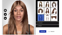 Tagli di capelli, colore e pettinatura online per parrucchieri virtuali