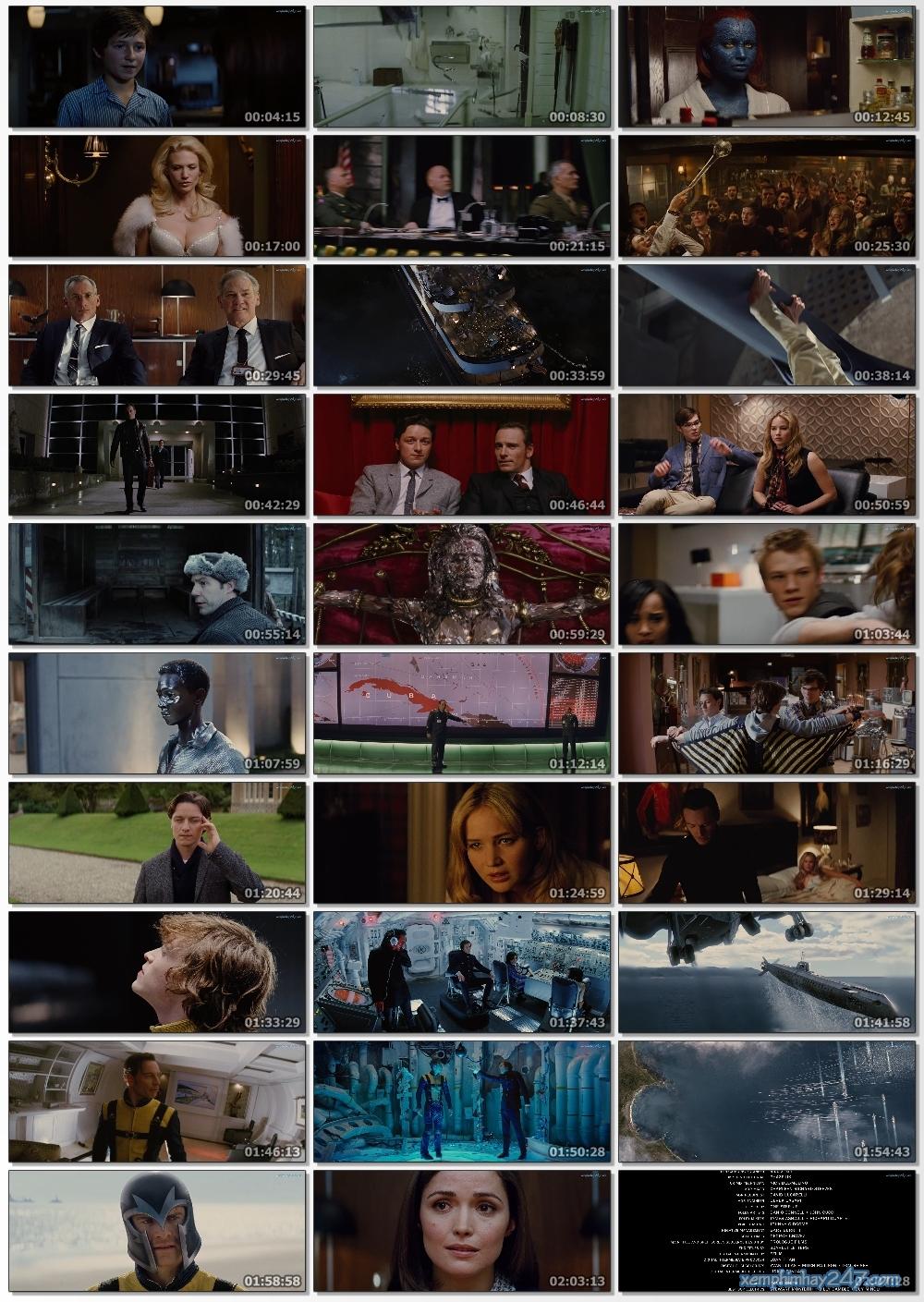 http://xemphimhay247.com - Xem phim hay 247 - Dị Nhân 5: Thế Hệ Đầu Tiên (2011) - X-men: First Class (2011)