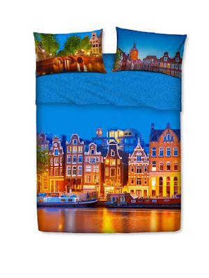 Amsterdam de Bassetti Imagine. Juego de sábanas