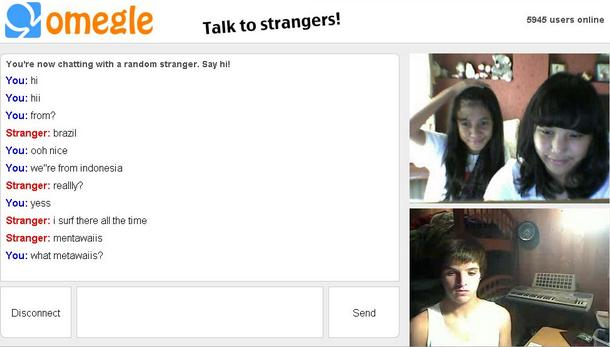 Omegle chatroom
