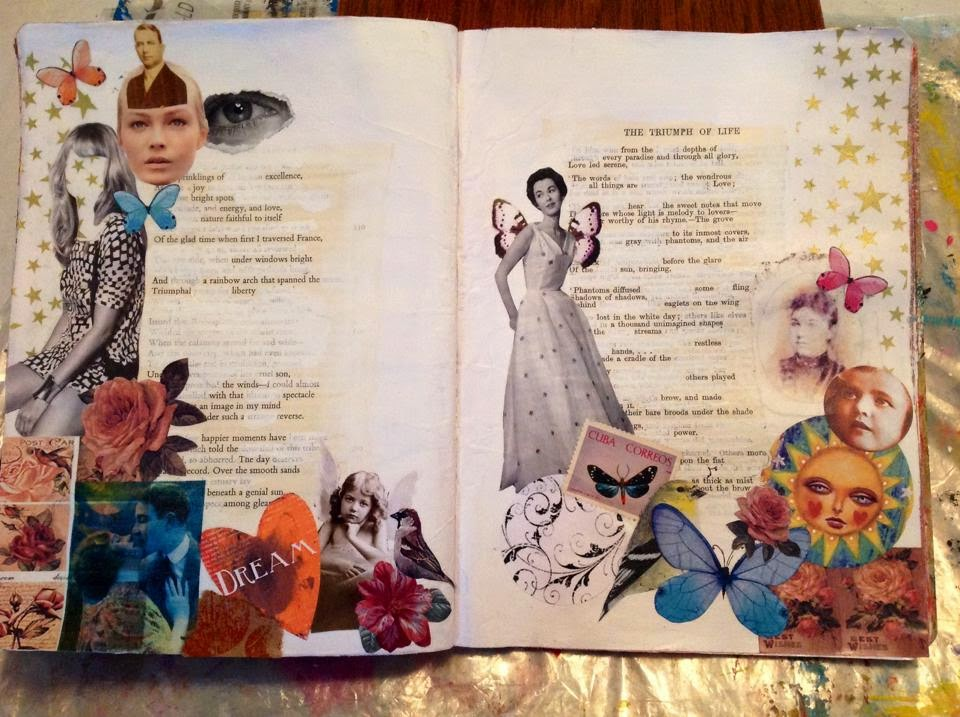 The triumph of life Art journal class