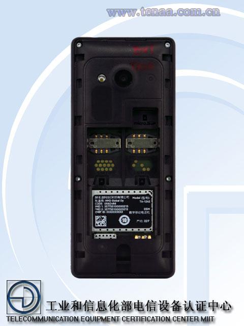 Nokia-TA-1242 passes TENAA