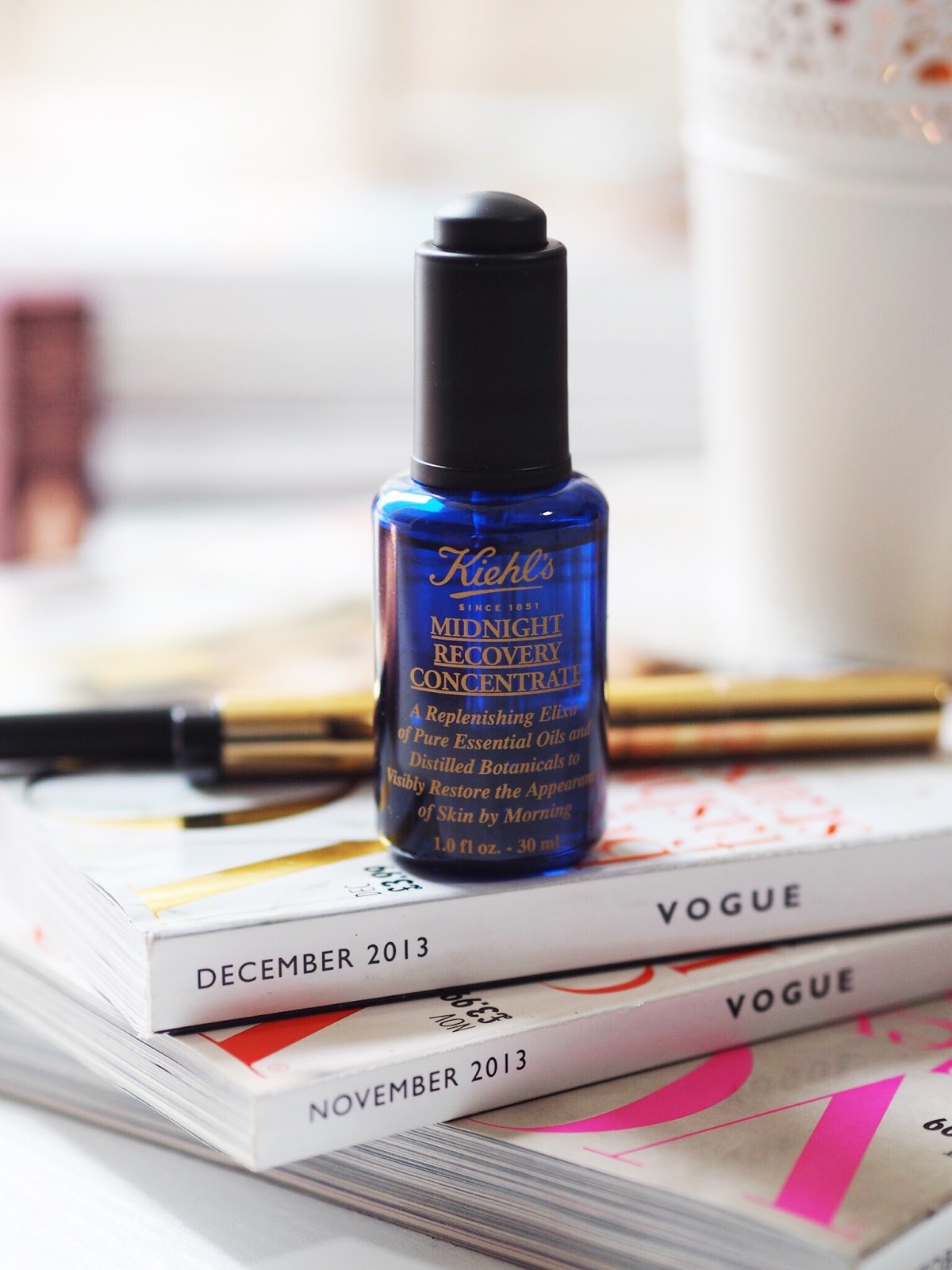 kiehl's midnight recovery concentrate review kiehl's bloggers skincare