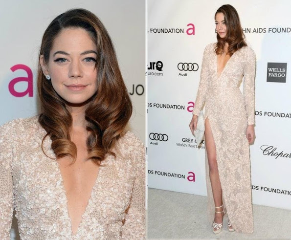 Analeigh Tipton in Elie Saab -2013 Naleigh Tipton in Elie Saab Oscars Party