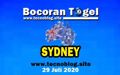 Bocoran Togel Sydney 29 Juli 2020