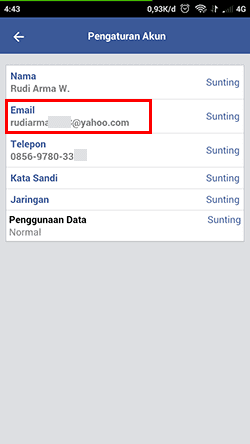 cara melihat password fb di pengaturan fb