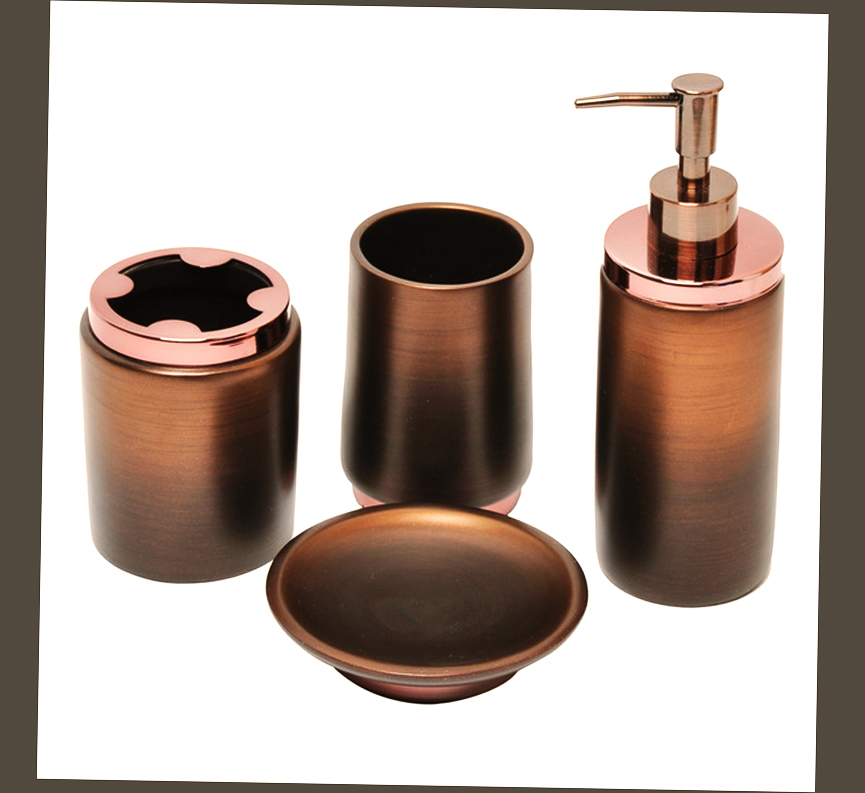 Best oil rubbed bronze bathroom accessories ellecrafts for Bathroom accessories glass