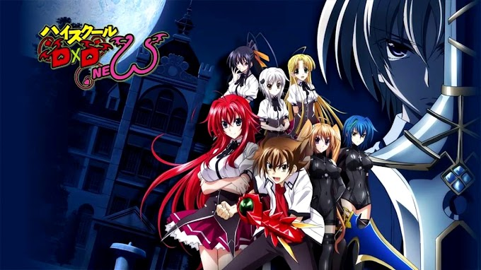 High School DxD New Season 2 Batch Substitle Indonesia