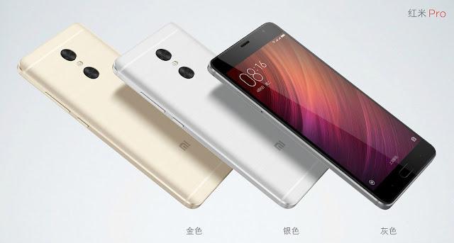 Harga Xiaomi Redmi Pro dan Spesifikasi