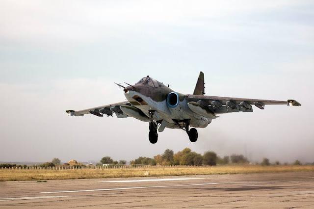 Georgia restored Su25 first flight