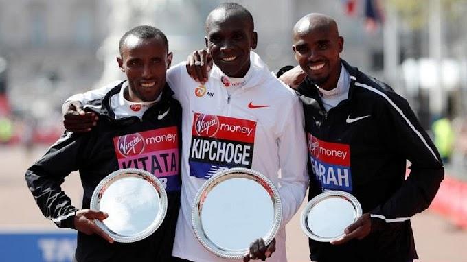 Kenya's Kipchoge beats Ethiopia's Kitata to win 2018 London Marathon