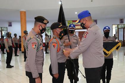 Resmi! Kasetukpa Polri Lantik Perangkat Korps Resimen Siswa SIP 50 WSA