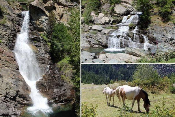 visitare cascate in valle d'aosta con bambini
