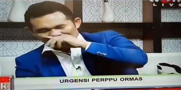"Heboh Kemunculan Boni Hargens di TV, Netizen: Boni Hargens Sedang ""ON"" Efek Narkoba!"