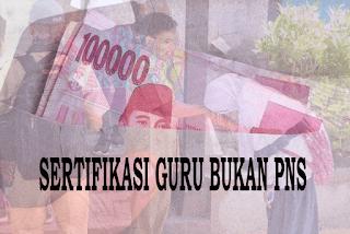 Juknis Penyaluran Tunjangan Profesi dan Tunjangan Khusus bagi Guru Bukan PNS
