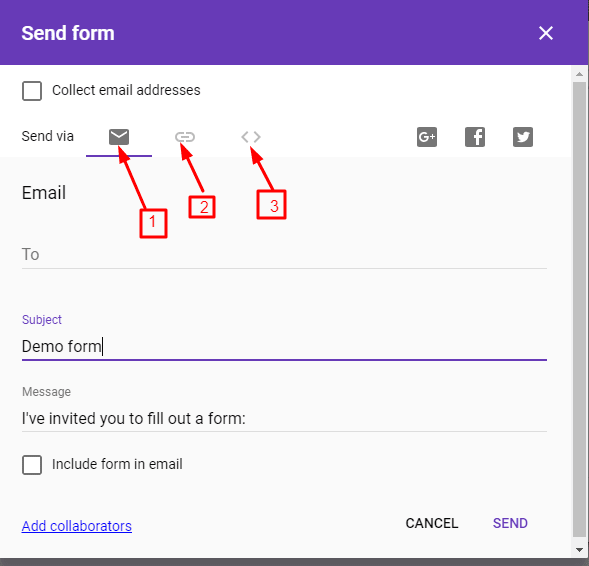 google form create krna